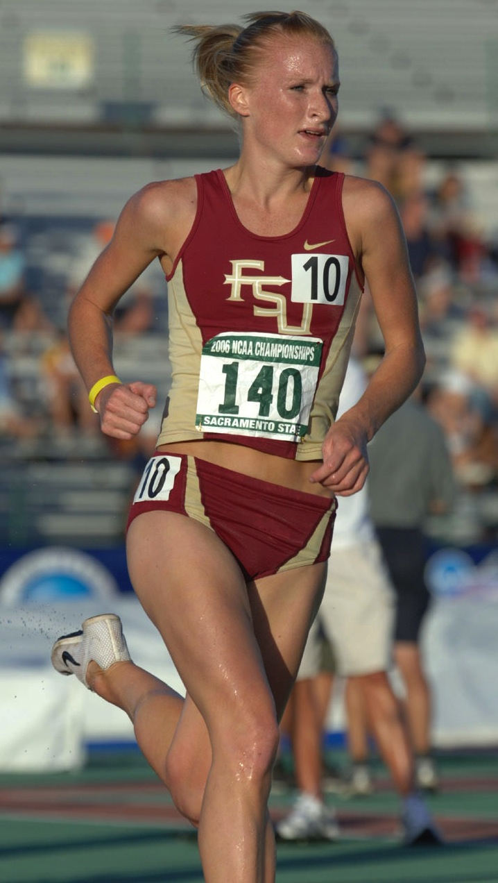 Barbara Parker will compete in both the 3000-meter steeplechase and the 5000-meter run for the United Kingdom.