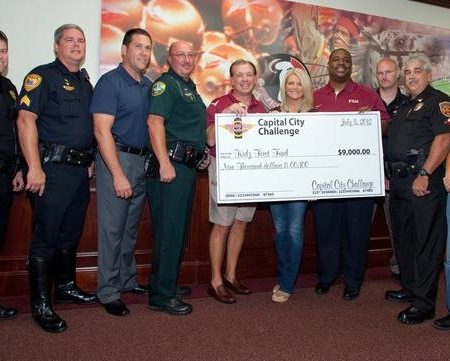 Local law enforcement officers raise $9,000 for fund started