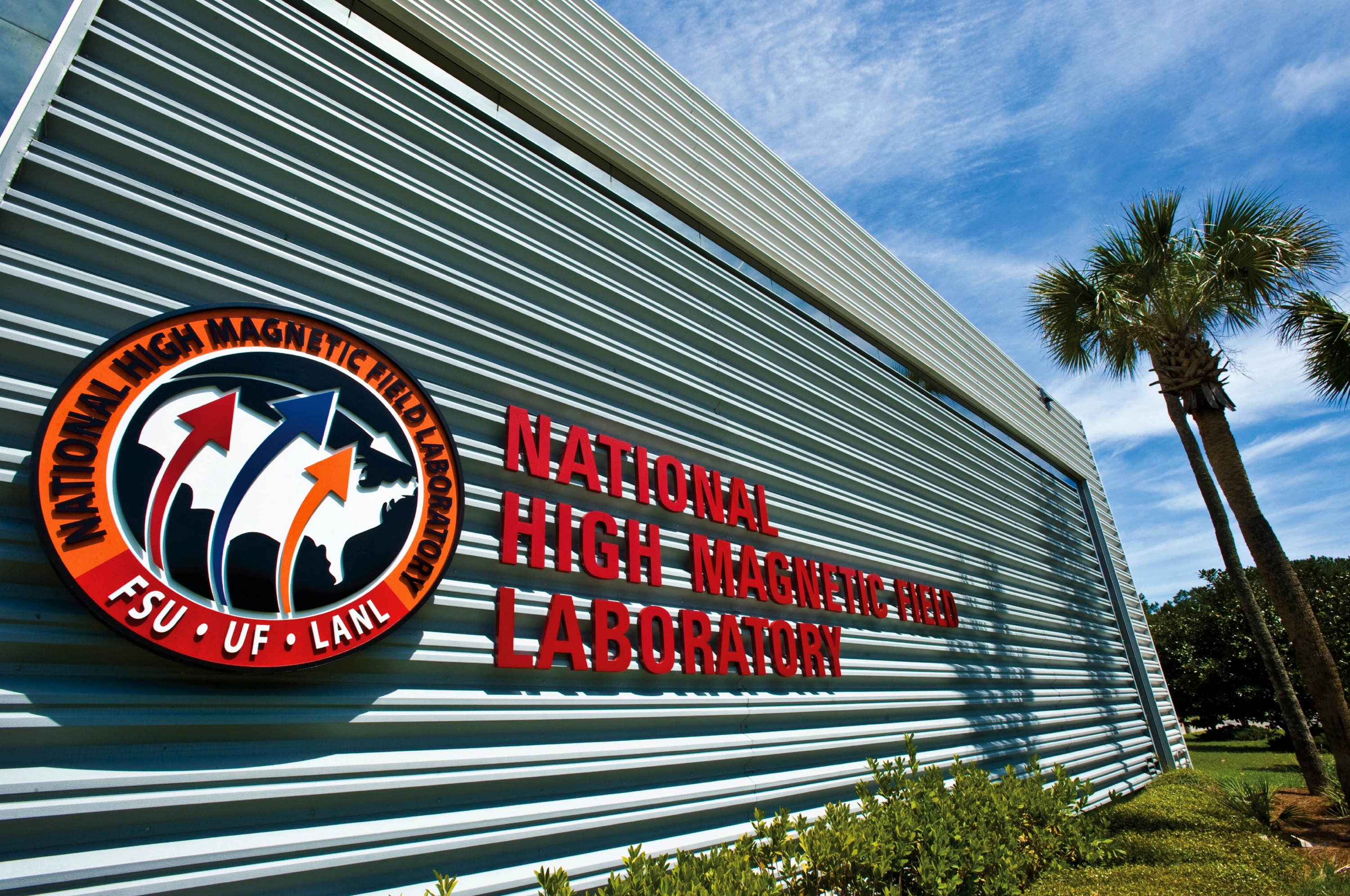 The National High Magnetic Field Laboratory is headquartered at Florida State University.