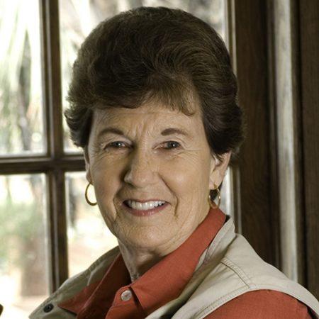 Nancy de Grummond, the M. Lynette Thompson Professor of Classics at Florida State.