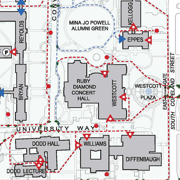 Fsu Academic Map FSU unveils campus accessibility map   Florida State University News