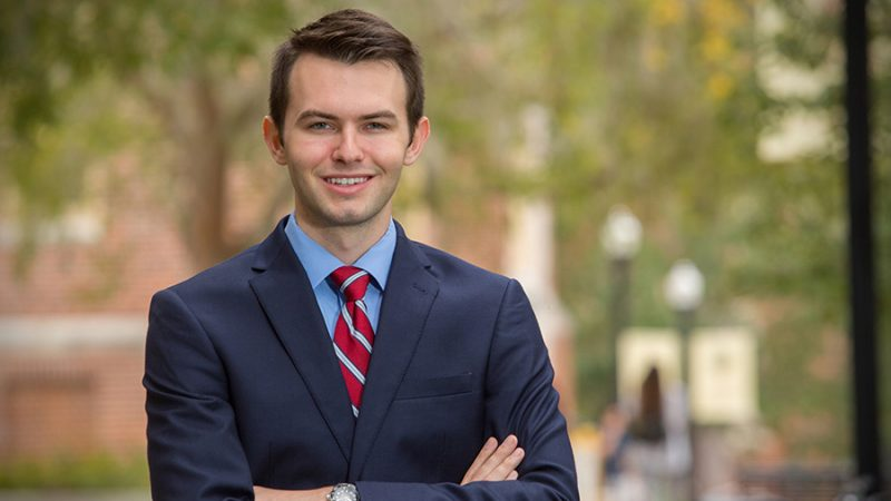 FSU's Gil Damon charts unconventional course to Rhodes Scholar finalist