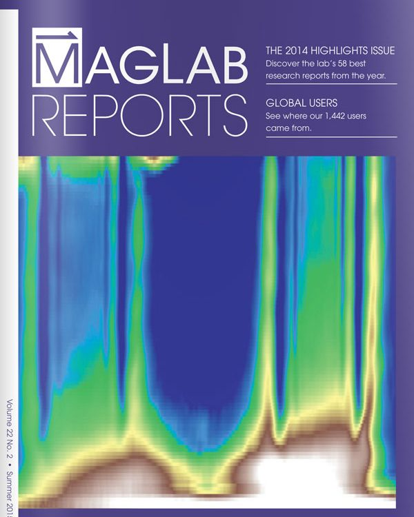 MagLab Reports publication