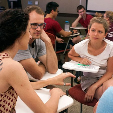 FSU and German students discuss similarities and differences in their cultures.