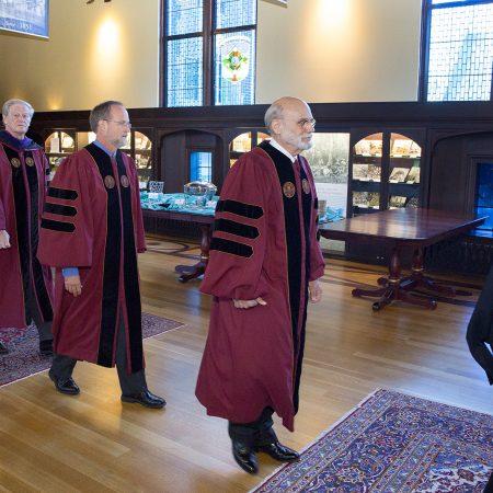 Chris Still receives honorary degree from FSU.