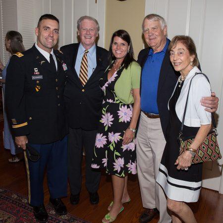 Veterans Graduation Reception and cording,