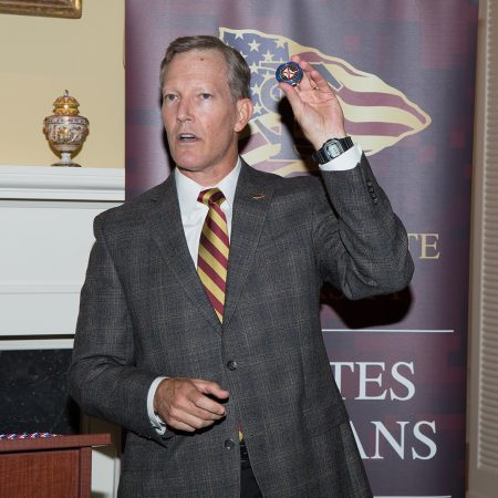 Veterans Graduation Reception and cording, Billy Francis