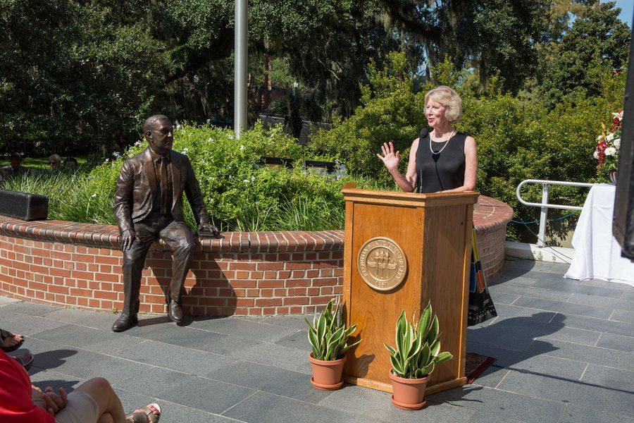 Robert Manning Strozier Statue Dedication cermony