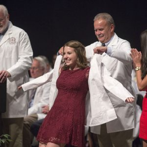 Florida State University College of Medicine Class of 2020 White Coat Ceremony and 2017 Gold Humanism Honor Society Induction held in Ruby Diamond Hall August 12, 2016.