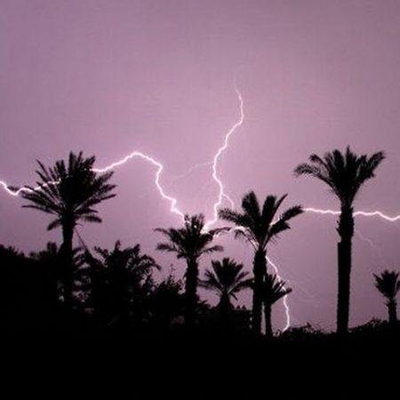 Lightning strikes Thunderstorms spread mercury pollution