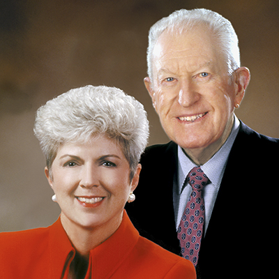 File Photo: Jan and Jim Moran. Automotive legend and philanthropist Jim Moran, who died in 2007 at the age of 88, dedicated his energy and focus to building greater opportunity for business owners. That legacy continues with entrepreneurship programs for business owners and students.