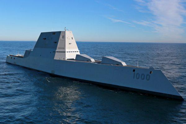 USS Zumwalt (Photo credit: U.S. Navy)