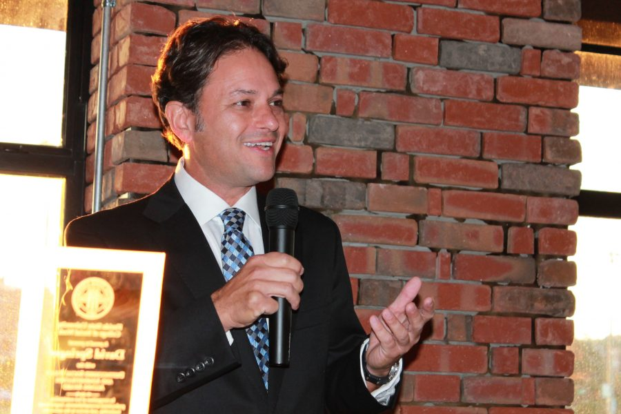 David Springer is a three-time graduate of FSU.