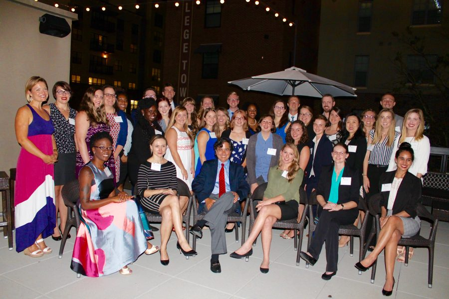 Sixty-five social work scholarship recipients were honored for their academic achievement.
