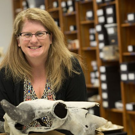 Associate Professor of Archaeology Tanya Peres