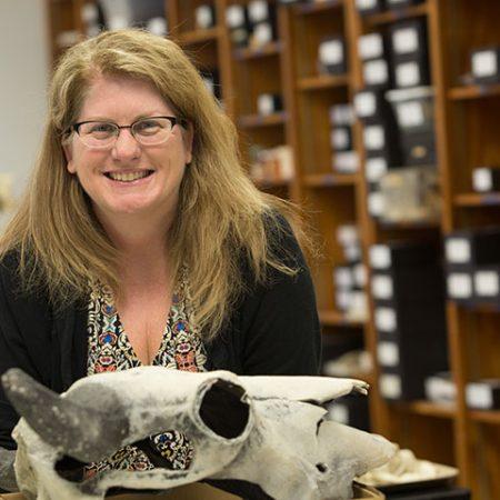 Associate Professor of Archaeology Tanya Peres