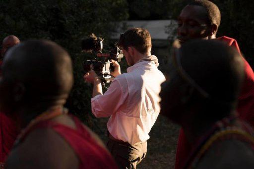 Bud Simpson captures a traditional Maasai song at Sentinel Mara Camp.