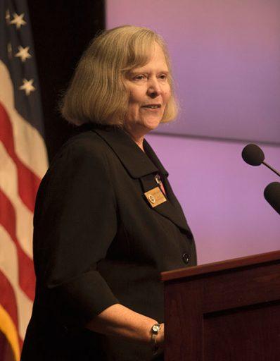 Karen Laughlin, dean of Undergraduate Studies