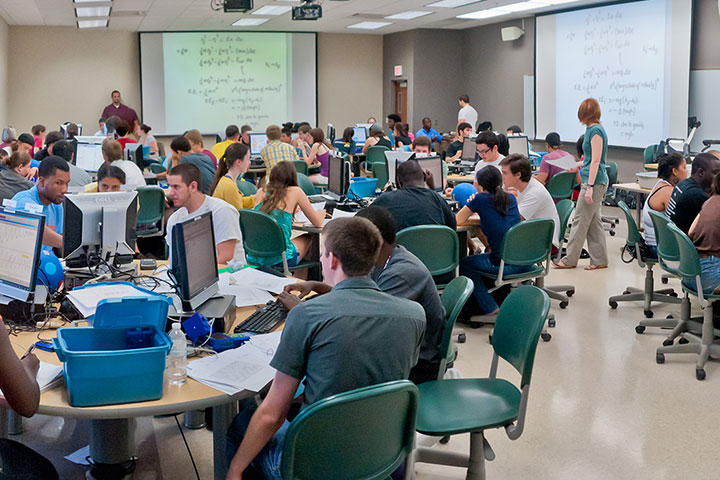 FSU's undergraduate physics program is a model for other institutions around the nation.