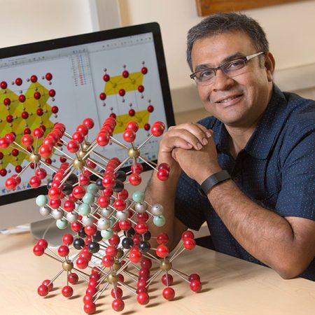 Mainak Mookherjee, assistant professor of geology at FSU