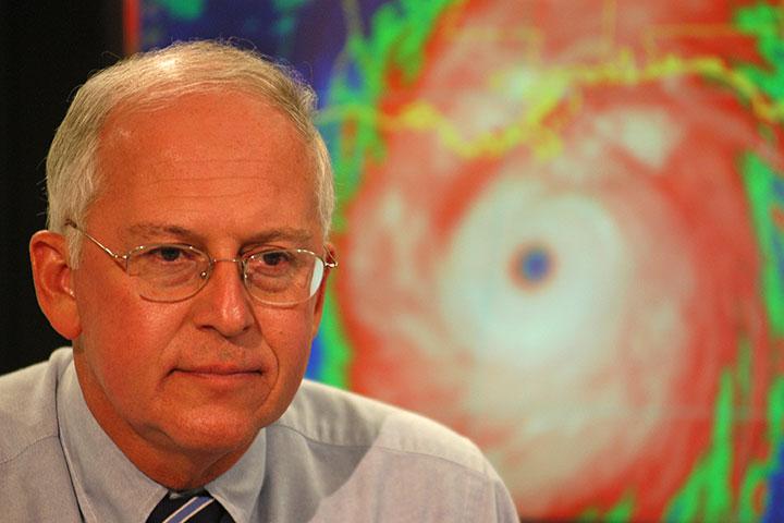 Max Mayfield, FSU alumnus and a former Hurricane Center director.