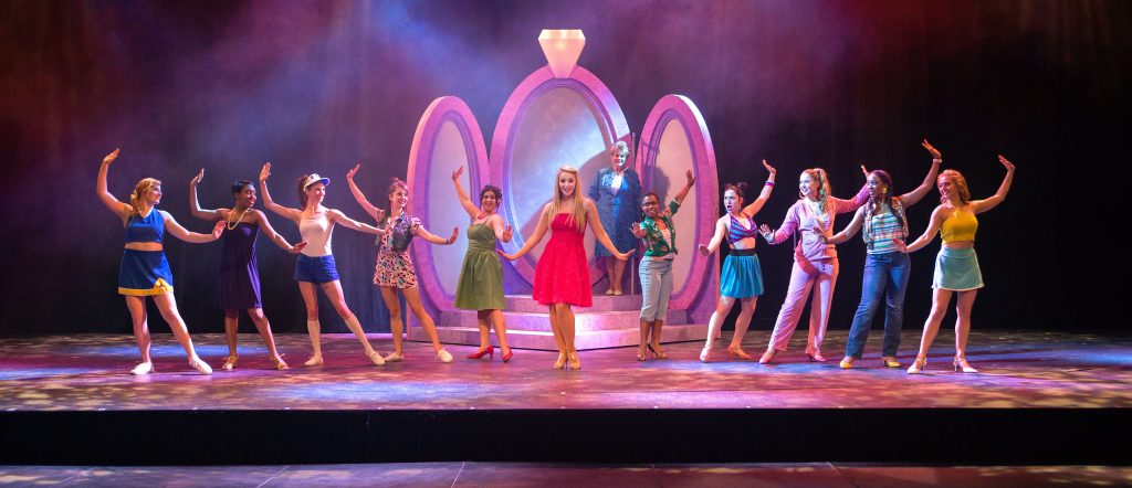 "The FSU School of Theatre's production of ""Legally Blonde"" in February 2016."