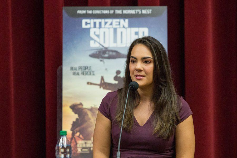 Erica Menendez, director, Veteran Student Union.