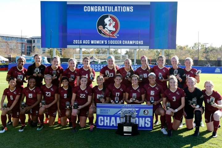 The Seminoles are the 2016 Atlantic Coast Conference champions.