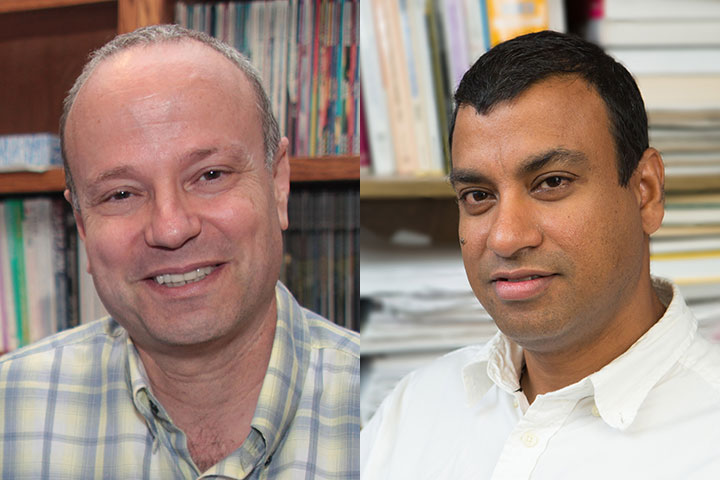 Professor of Computer Science David Whalley and Professor of Statistics Anuj Srivastava