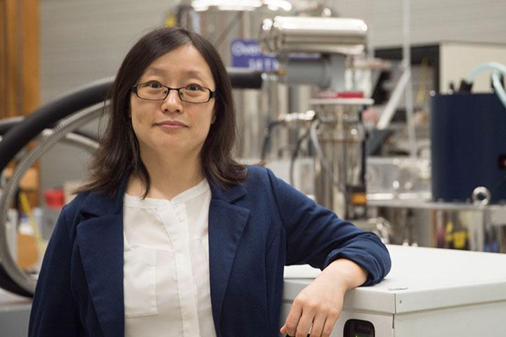 Assistant Professor of Chemistry Yan-Yan Hu