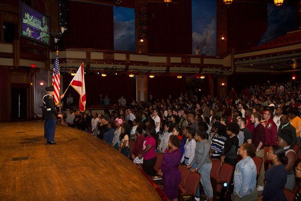 29th Annual MLK Celebration Tuesday, Jan. 17. Photo credit: Lauren Alsina