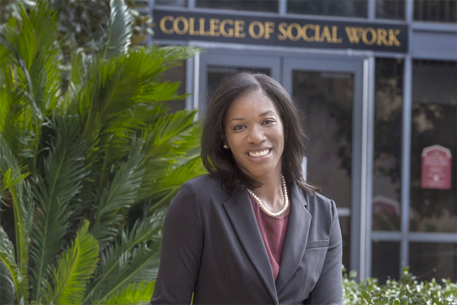 FSU alumna Jessica Pryce will lead the Florida Institute for Child Welfare housed within the FSU College of Social Work.
