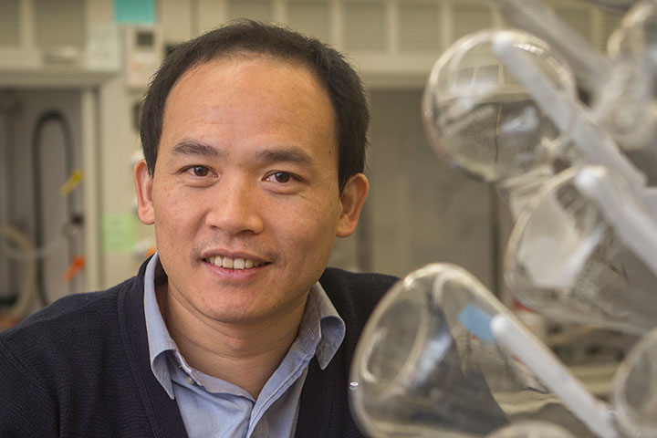 Biwu Ma, associate professor of chemical and biomedical engineering