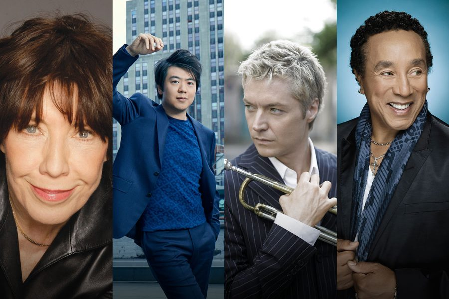 Lily Tomlin, Lang Lang, Chris Botti and Smokey Robinson will perform during the Opening Nights Performing Arts' February festival.