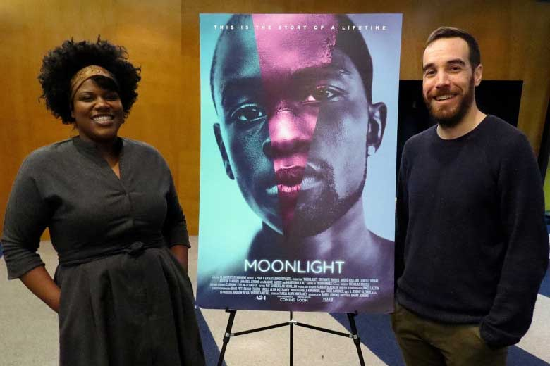 "Joi McMillon and Nat Sanders are nominated for an Oscar in film editing for ""Moonlight."""