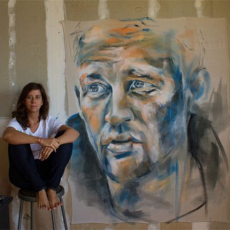 Mikaela Sheldt is an accomplished artist, photographer and poet who inspired the 2014 Artists and Autism exhibition. Mikaela's large portraits are intimate portrayals of emotional states. Her close studies of people's visages and feelings impart humanity's wonder, yearnings and vulnerability.