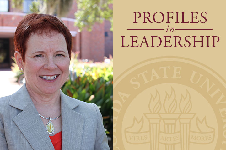 Marcy Driscoll became dean of the FSU College of Education in 2005.