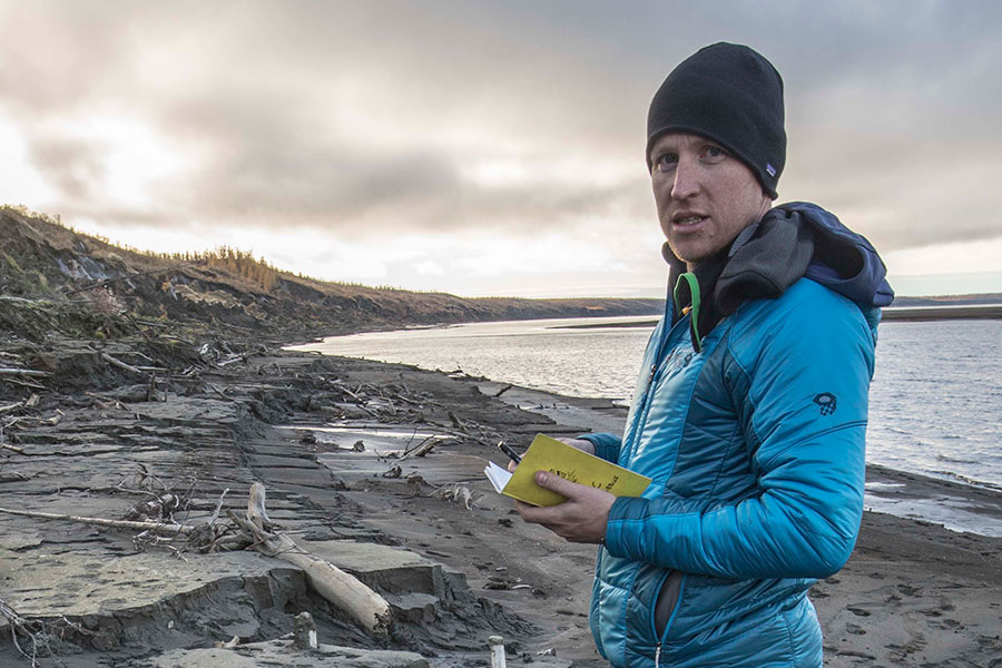 Assistant Professor of Earth, Ocean and Atmospheric Science Robert Spencer is delving into the complexities of exactly how permafrost thawing in the Earth's most northern regions is cycling back into the atmosphere as carbon dioxide and further fueling climate change.