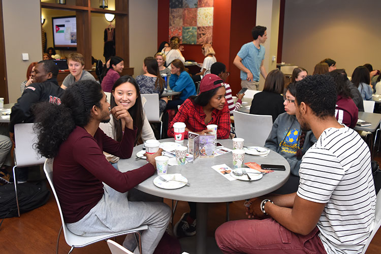 Florida State's Global and Multicultural Building offers all students a place to interact with different cultures and nationalities.