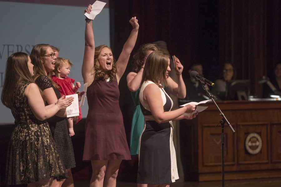 Medical students had plenty to cheer about as they found out where their medical training will take them next. A total of 117 graduating students registered in the national matching program.