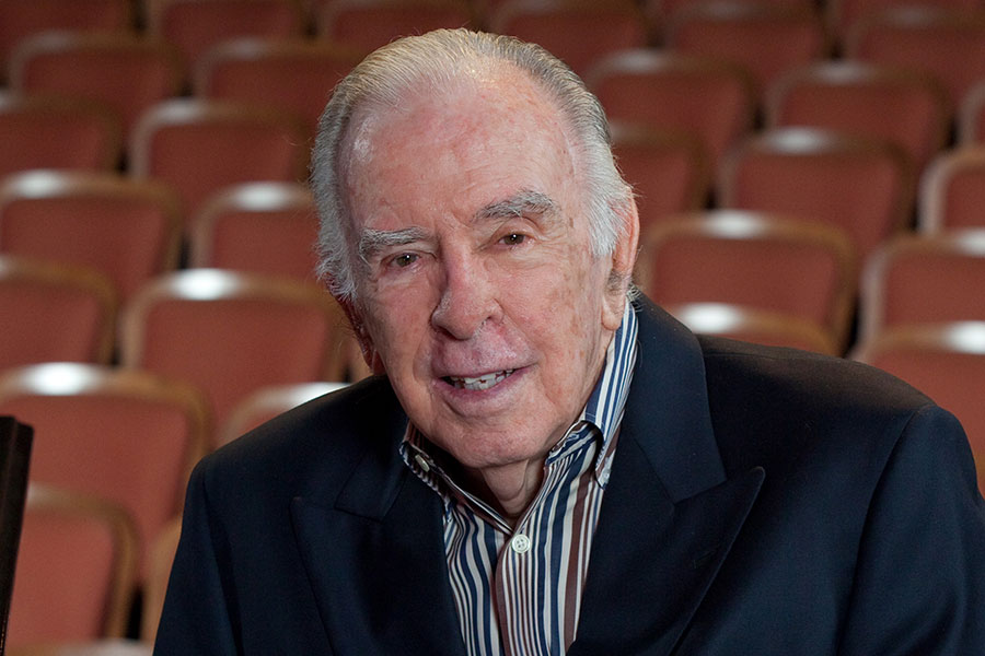 "Carlisle Floyd, a former FSU professor, returns to campus for the collegiate debut of his newest opera, ""Prince of Players."""