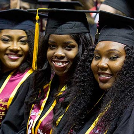 The report from The Education Trust finds 74.5 percent of FSU's African-American students — who make up 8.4 percent of the student body — graduate within six years.