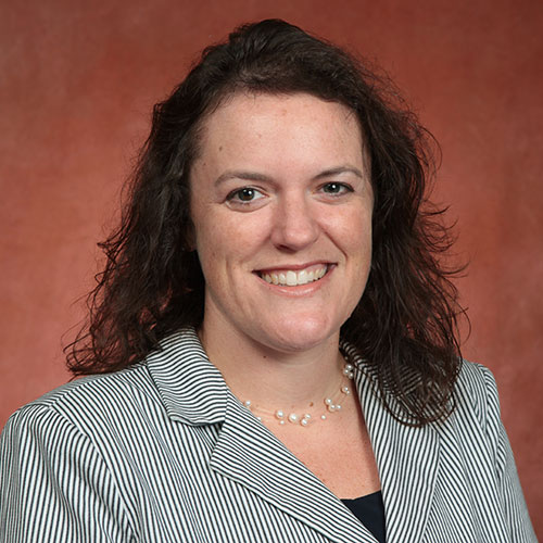 Allison H. Crume, associate vice president for Student Affairs