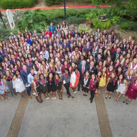 Garnet and Gold Scholar Society Spring 2017 inductees
