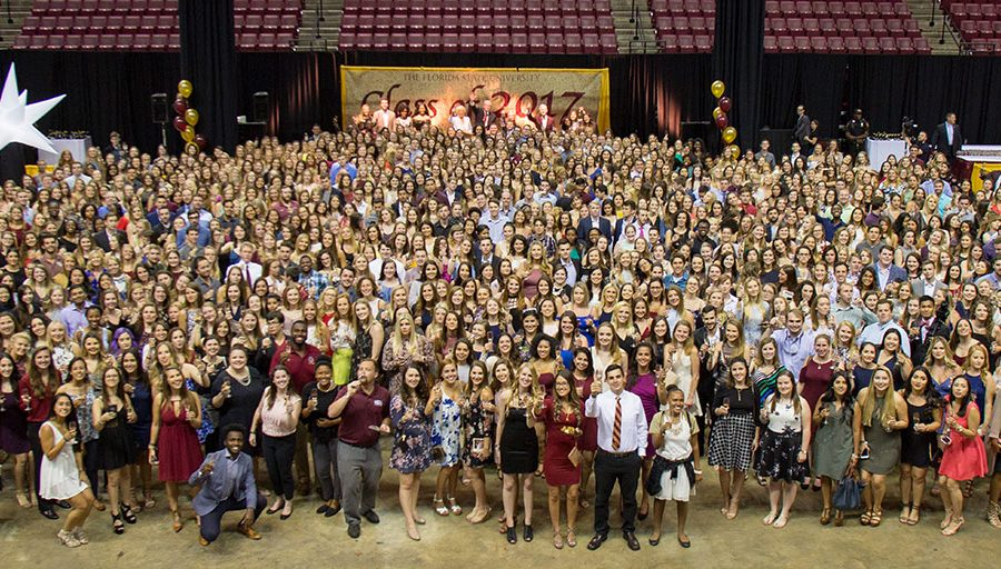 FSU Class of 2017 at the President's Senior Toast