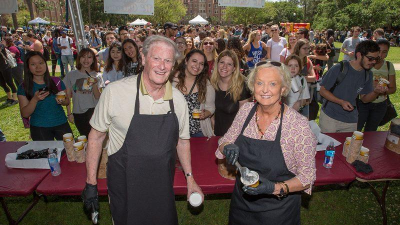 Florida State University President's Ice Cream Social on Landis Green, April 19, 2017.