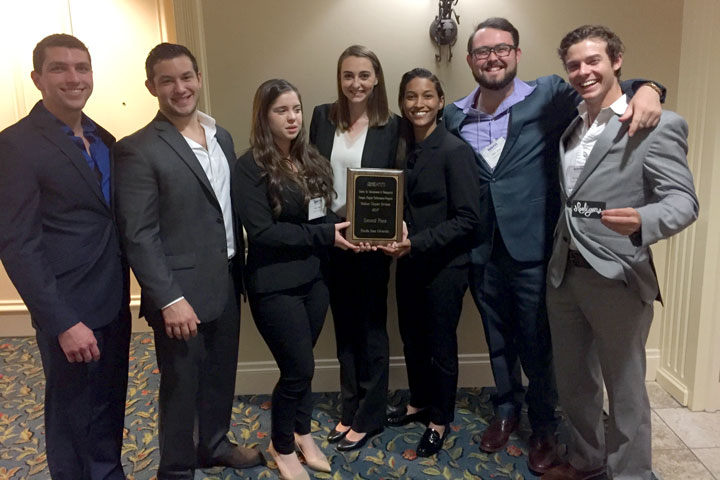 The Society for Advancement of Management (SAM) recognized Florida State's chapter of SAM.