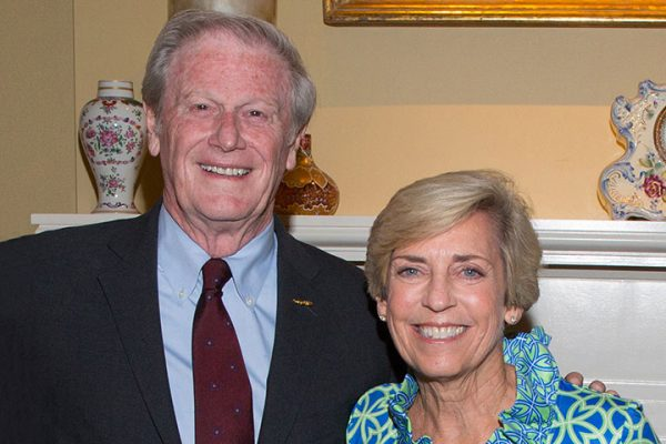 President John Thrasher and Vice President for Student Affairs Mary Coburn.