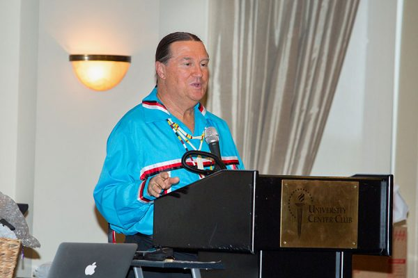 John Lowe, the McKenzie Professor in Health Disparities Research and director of INRHE, organized the 2017 International Indigenous Nursing Research Summit.