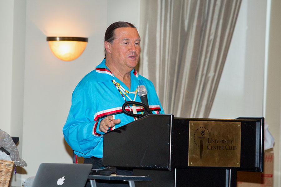 John Lowe, the McKenzie Professor in Health Disparities Research and director of INRHE, organized the 2017 International Indigenous Nursing Research Summit.